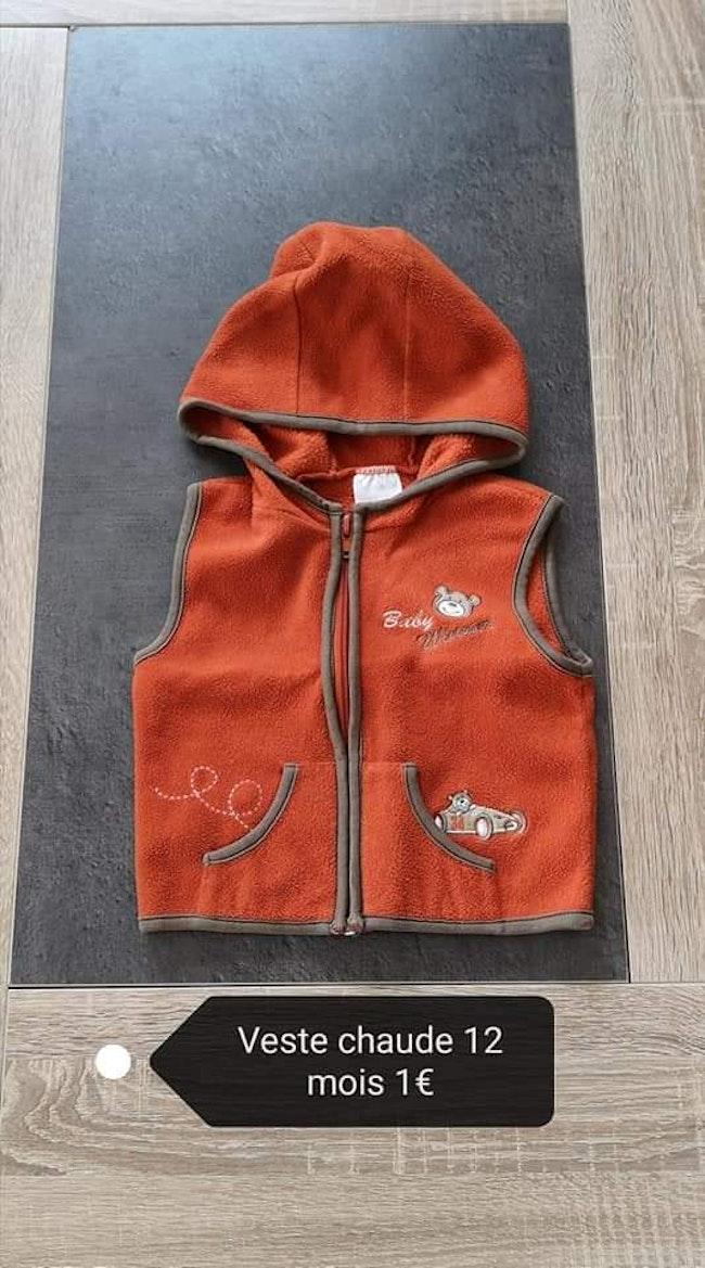 Lot manteau + veste 12 mois