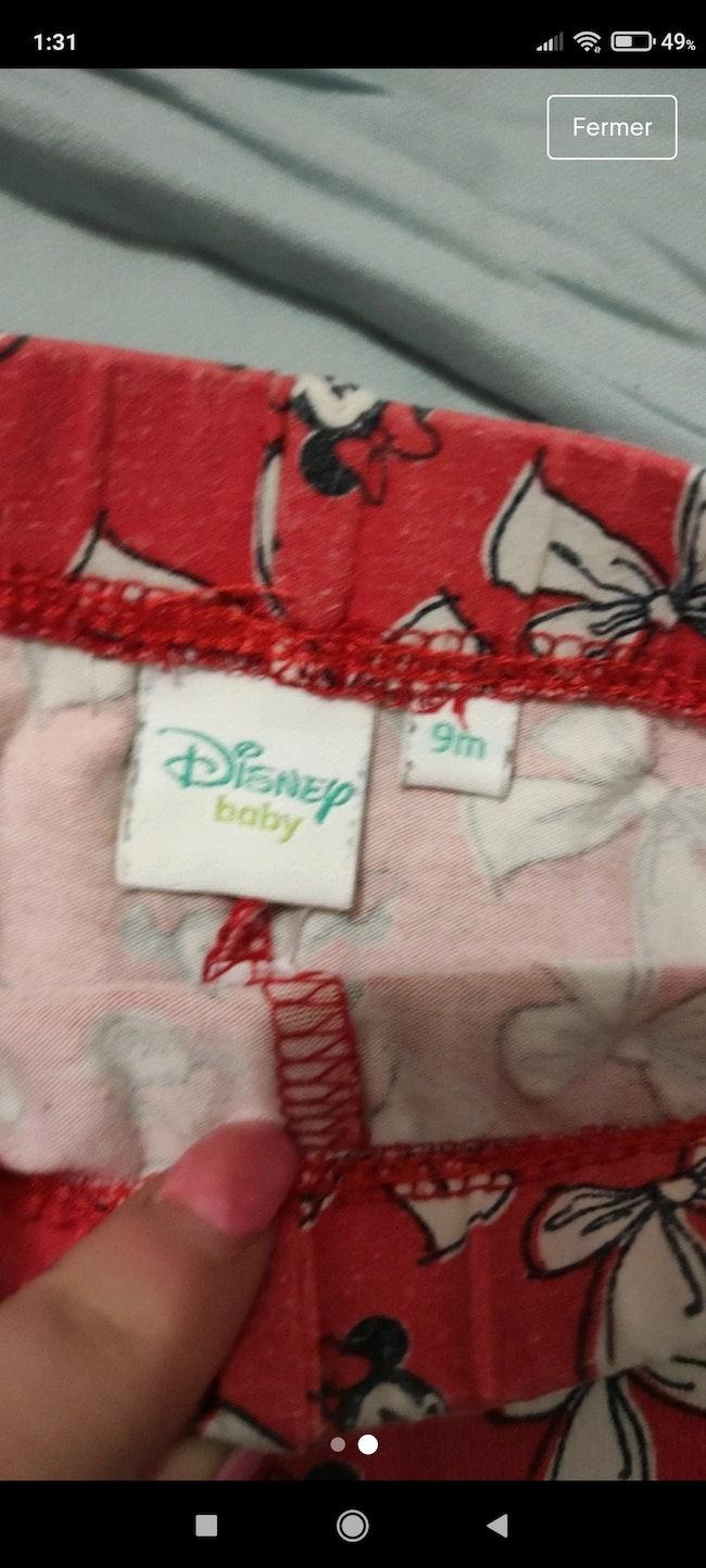 Legging Disney 9 mois