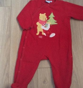 Pyjama Disney baby winnie noël 12 mois