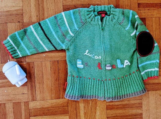 Gilet catimini cardigan bébé garçon laine Neuf