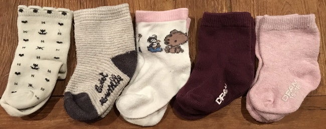 15 paires de chaussettes