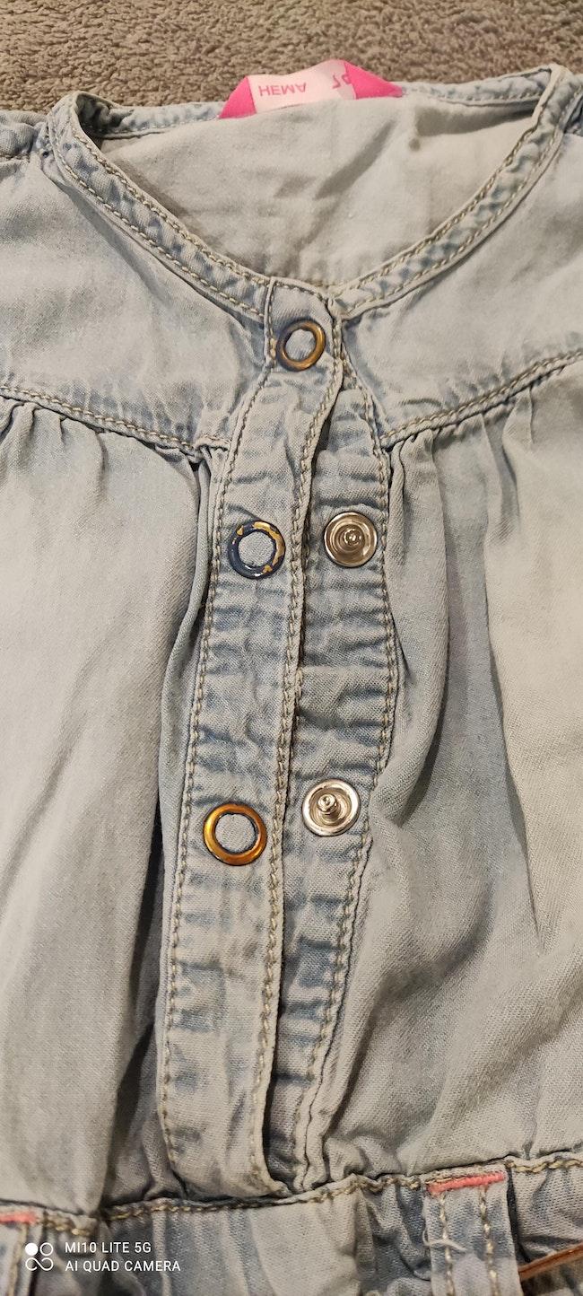 Salopette en Jeans légère