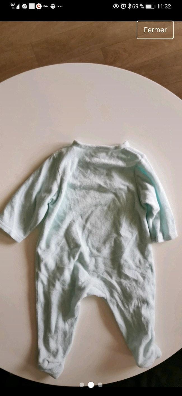 Pyjama taille 9 mois