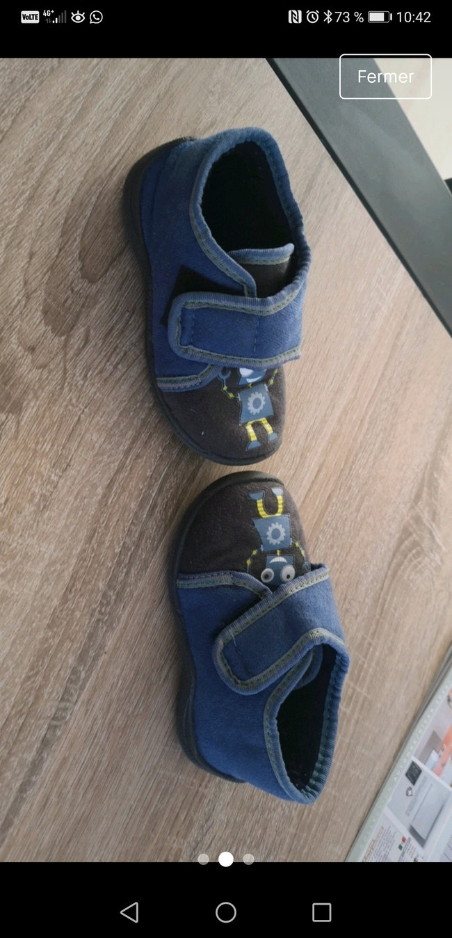 Chaussons taille 21