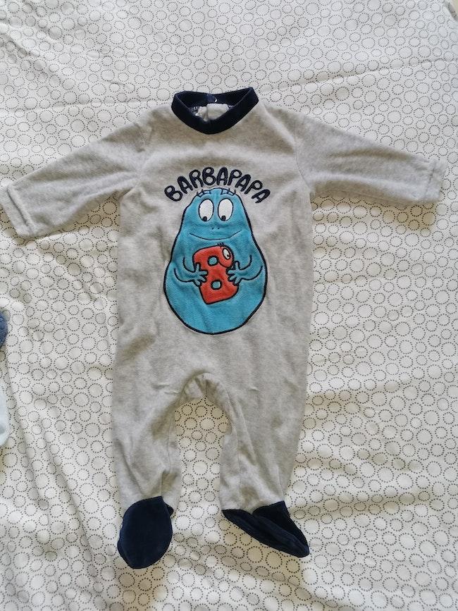 Pyjamas 3 mois barbapapa
