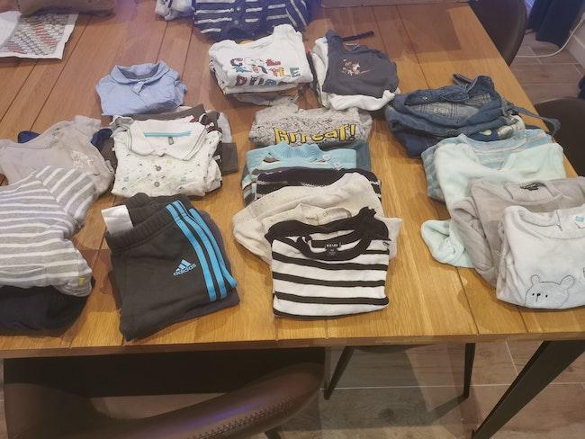 Vêtements garçon 9 mois