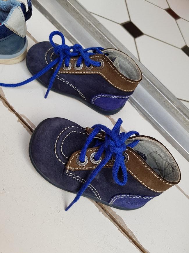 Kickers bleues T20