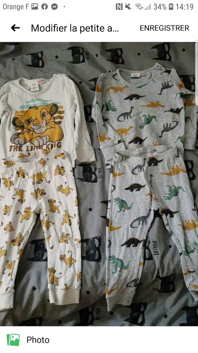 Pyjamas zara