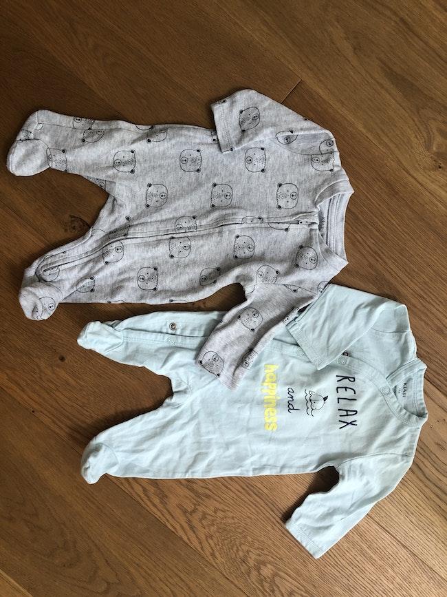 2 Pyjamas 100%coton léger
