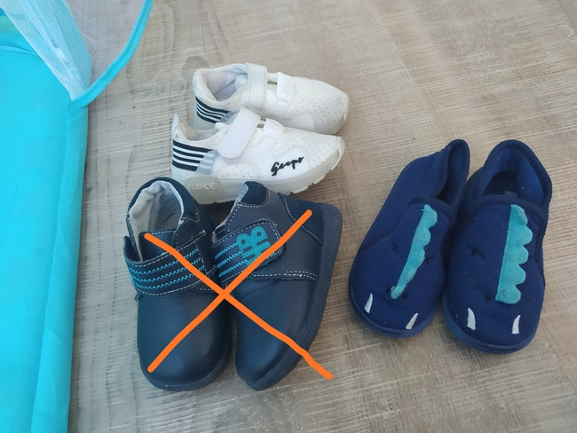 Chaussures enfant taille 21-22-23