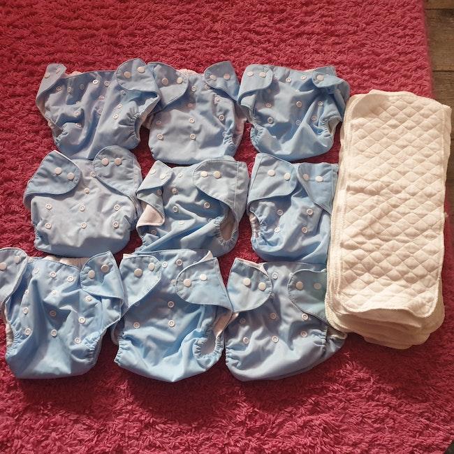 Couches lavables ajustables