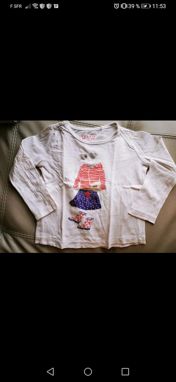 T-shirt blanc ESPRIT