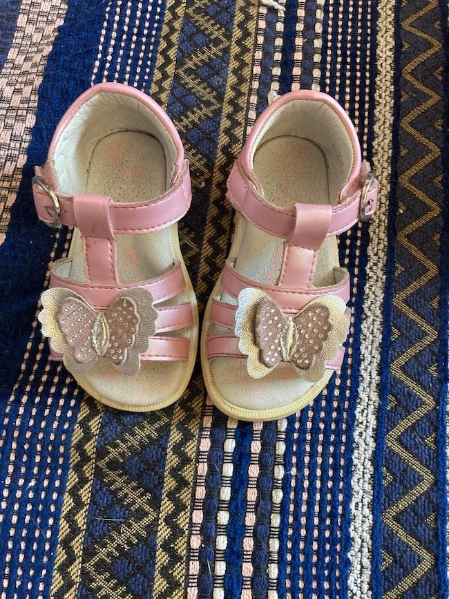 Nu pied sandale 22
