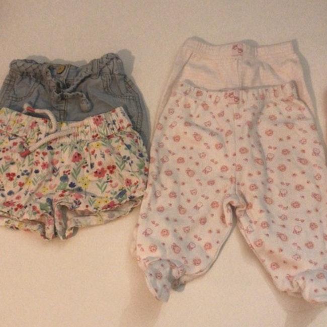 Lot vêtements fille 1 mois