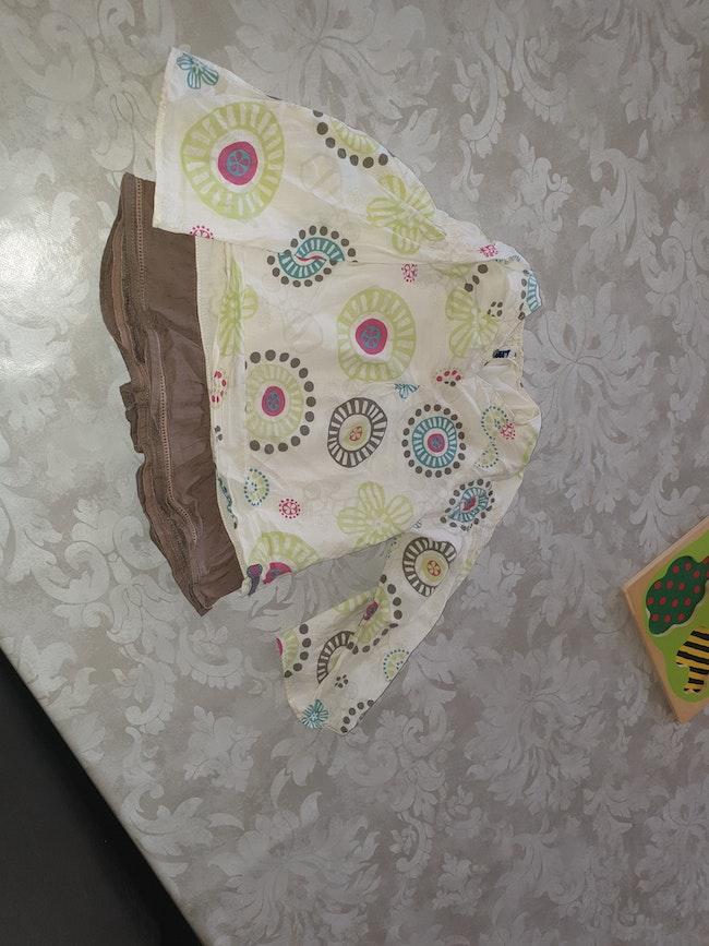 Chemise blouse fille 24 mois tunique sucre d orge