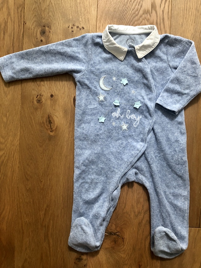 1 pyjama en velours