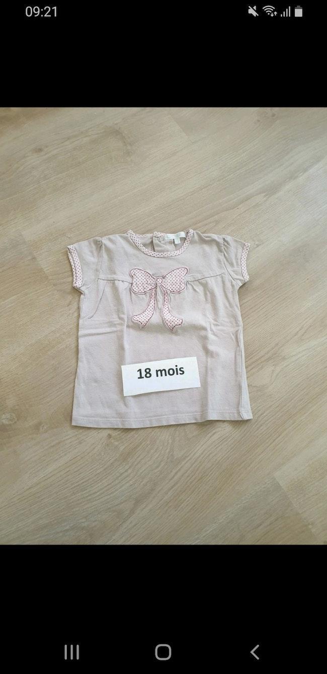 Tee short fille 18 mois