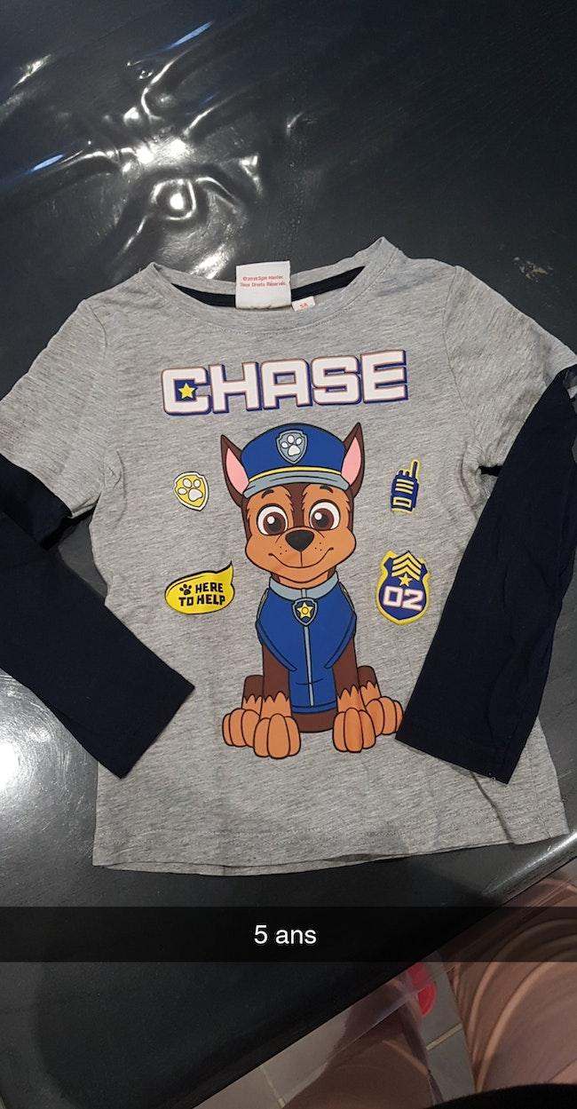 Tshirt pat patrouille