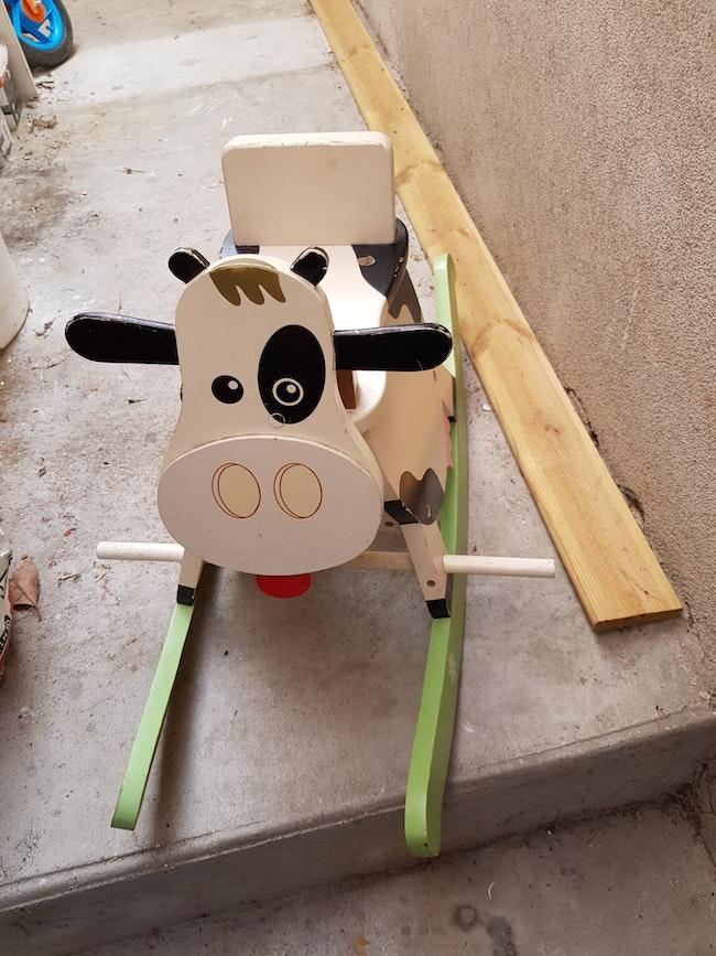 Vache à bascule