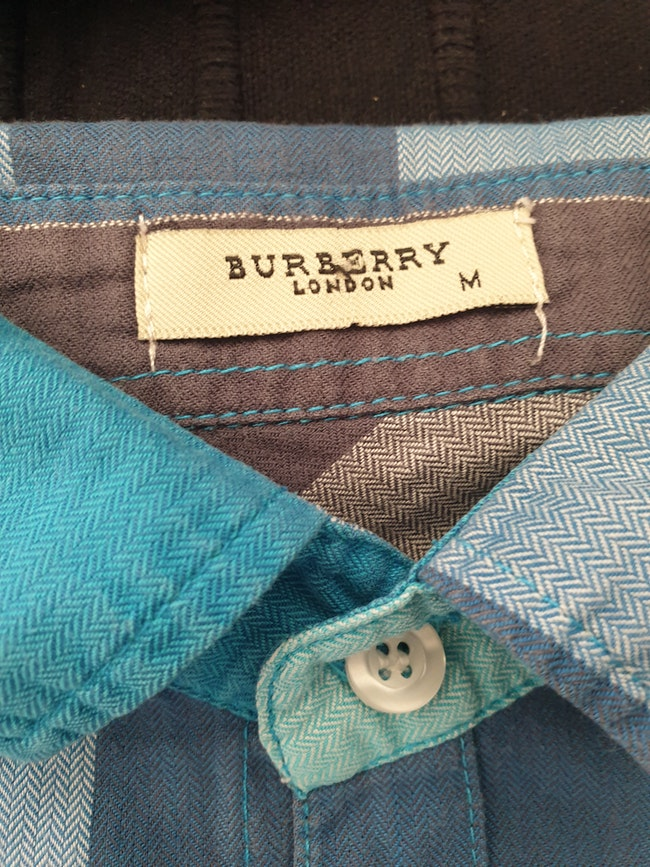 Chemise manche courte Burberry
