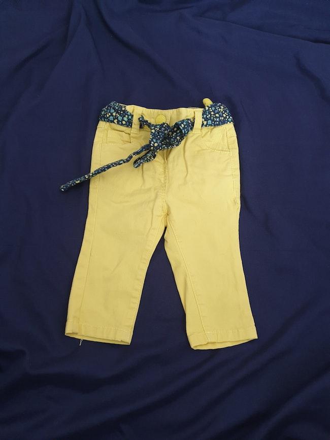Lots de pantalons fille 3 mois