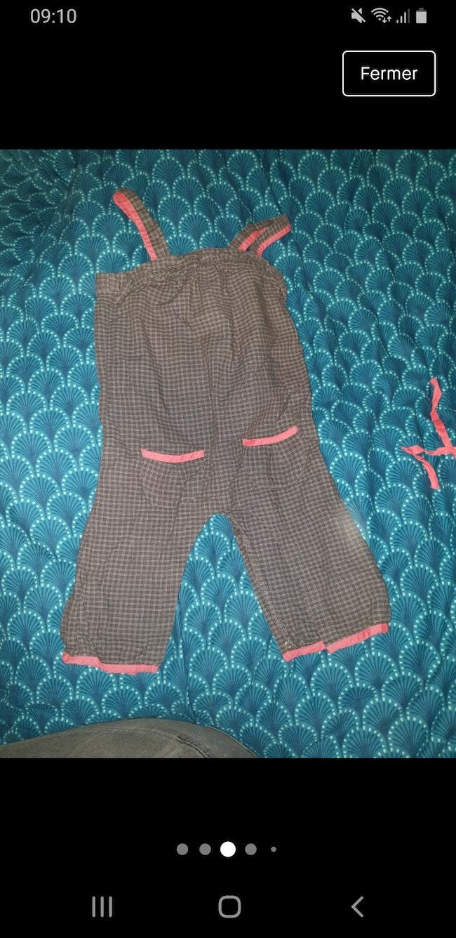 Combi pantalon fille 18 mois