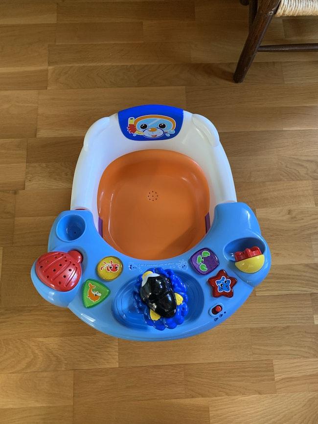 Chaise de bain musicale