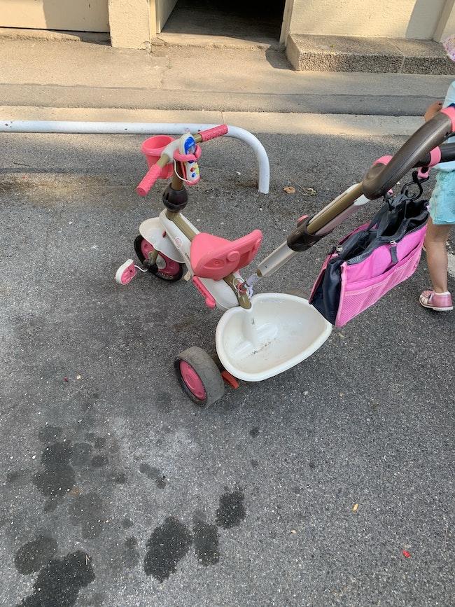 Tricycle  SMARTRIKE - tricycle évolutif 4 en 1 Dream rose pour bébé et enfant