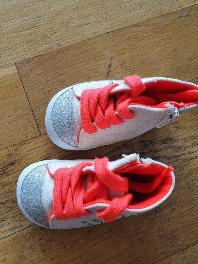 Chaussures bébé taille 17