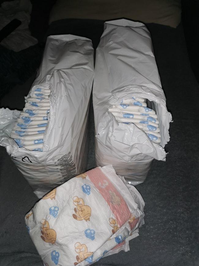2 paquet de couches
