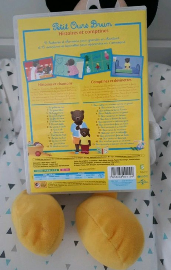 Dvd comptines petit ours brun