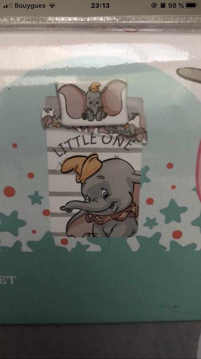 Parure de Lit Dumbo 100X135 cm