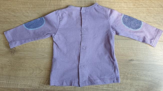 T shirt garçon violet 6mois  sucré d orge