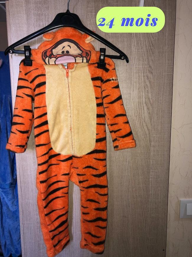 Combinaison // Sur-pyjama Tigrou
